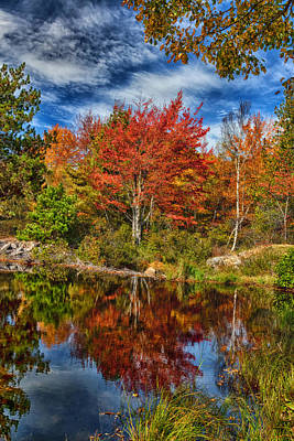 Photograph - Fall Reflections In Maine Img 6312 by Greg Kluempers