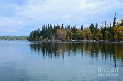 Fall Reflections Art Print by Kathleen Struckle