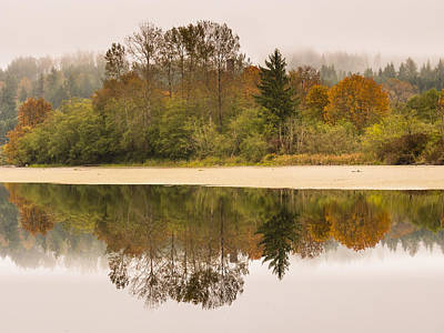 Photograph - Fall Reflections by Kyle Wasielewski