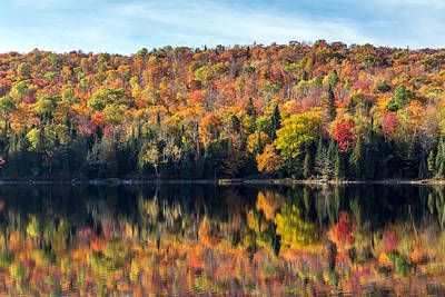 Photograph - Fall Reflections by Pierre Leclerc Photography