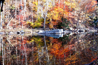 Photograph - Fall Reflections by Robert Camp