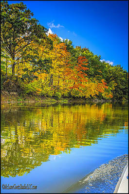 Photograph - Fall River Reflections by LeeAnn McLaneGoetz McLaneGoetzStudioLLCcom