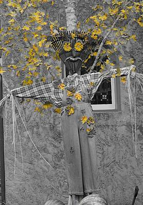 Photograph - Fall Scarecrow by Dan Sproul