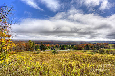 Photograph - Fall Scene In Canaan Valley by Dan Friend