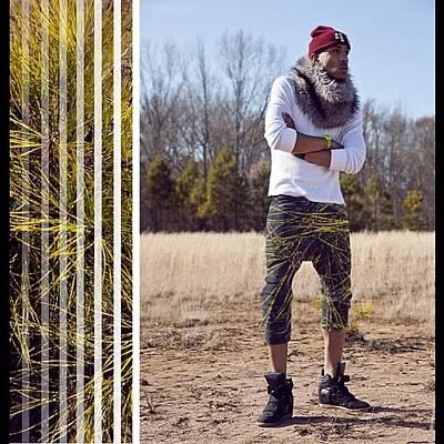 Pop Art Photograph - #fall #season #tbt #malebody #model by Tyree Thomas