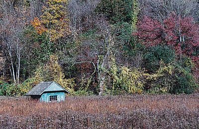 Fall Shed #1 Art Print by Glenn Cuddihy