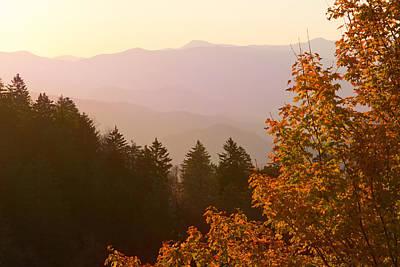 Photograph - Fall Smoky Mountains by Melinda Fawver