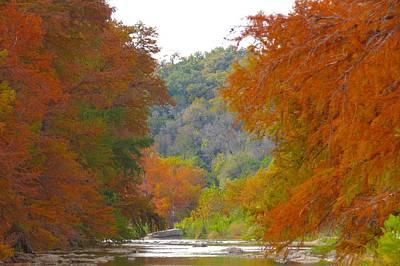 Wimberley Photograph - Fall Spectacular by David  Norman