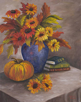 Painting - Fall Still Life by Darice Machel McGuire