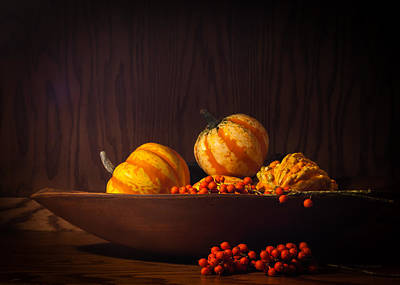 Photograph - Fall Still Life by Wayne Meyer
