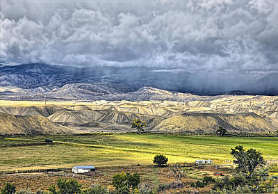 Photograph - Fall Storms Montrose Colorado by James Steele
