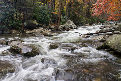 Photograph - Fall Stream by Jim Dollar