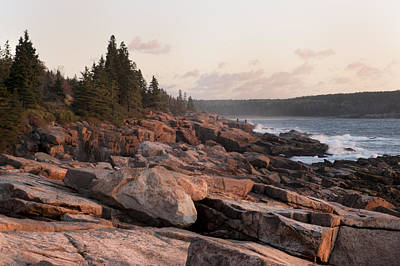 Fall Sunrise In Acadia Art Print by Phyllis Peterson