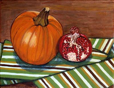 Painting - Fall by Vera Lysenko