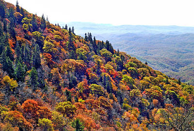 Photograph - Fall View Near Devil's Courthouse Rock by Duane McCullough