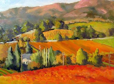 Fall Vines Original by Char Wood