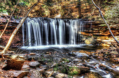 Photograph - Fall Water Fantasy 2 by David Stine