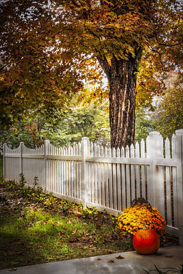 Photograph - Fall Welcome by Debra and Dave Vanderlaan