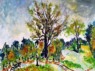 Painting - Fall2014-1 by Vladimir Kezerashvili