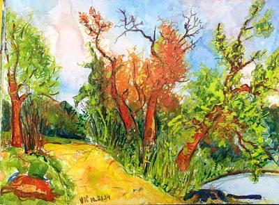 Painting - Fall2014-10 by Vladimir Kezerashvili