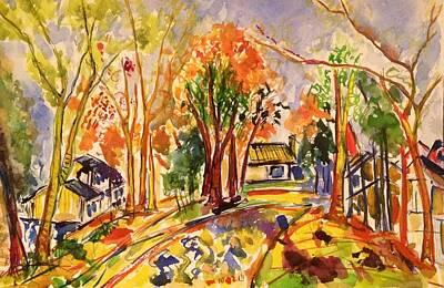 Painting - Fall2014-11 by Vladimir Kezerashvili