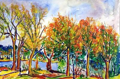 Painting - Fall2014-12 by Vladimir Kezerashvili