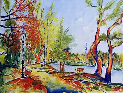 Painting - Fall2014-13 by Vladimir Kezerashvili