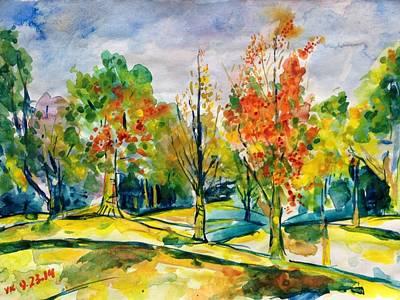 Painting - Fall2014-17 by Vladimir Kezerashvili