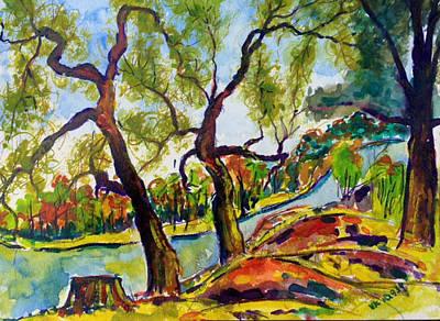 Painting - Fall2014-2 by Vladimir Kezerashvili
