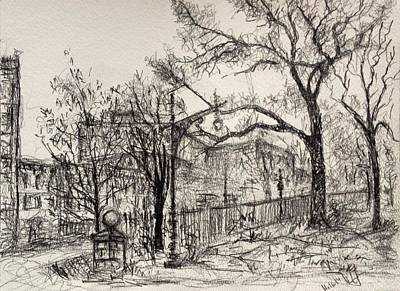 Drawing - Fall2014-20 by Vladimir Kezerashvili