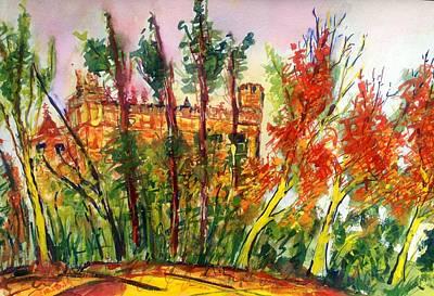 Painting - Fall2014-3 by Vladimir Kezerashvili