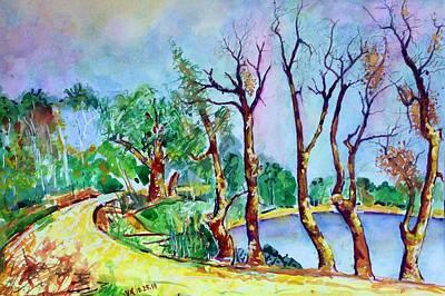Painting - Fall2014-4 by Vladimir Kezerashvili