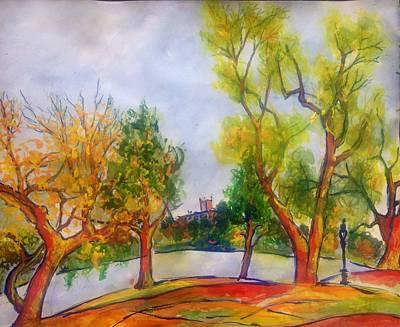 Painting - Fall2014-5 by Vladimir Kezerashvili