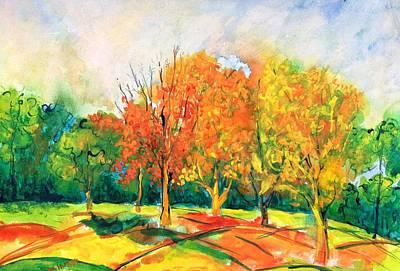 Painting - Fall2014-6 by Vladimir Kezerashvili