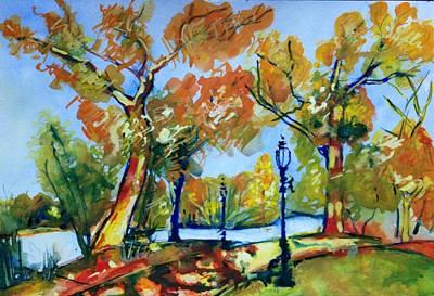 Painting - Fall2014-8 by Vladimir Kezerashvili