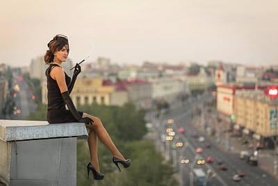 Smokers Photograph - Fallen Angel by Alexandr Pobat