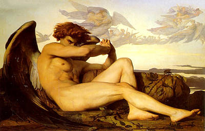 Painting - Fallen Angel  by Alexandre Cabanel