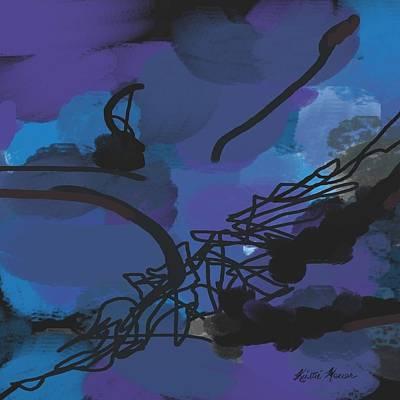 Painting - Fallen Ballerina by Kristie Mercer