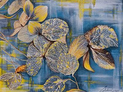 Fallen Folliage Art Print by Lakshmi Prakash