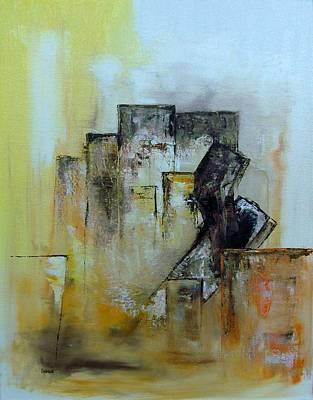Wall Art - Painting - Fallen by Linda Wimberly