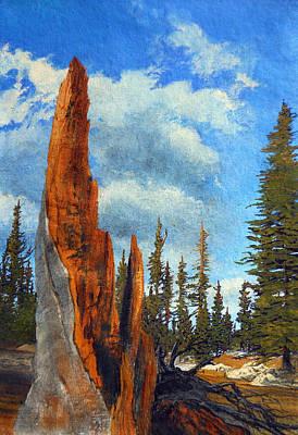 Robert Duvall Painting - Fallen by Robert Duvall