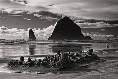Photograph - Fallen Sand Castles by Wes and Dotty Weber