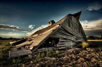 Decrepit Photograph - Fallen by Thomas Zimmerman