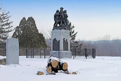 Little Wayne Photograph - Fallen Timbers Monument  1454  by Jack Schultz
