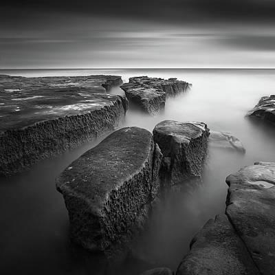 Zen Rocks Photograph - Falling Apart by Yi Fan