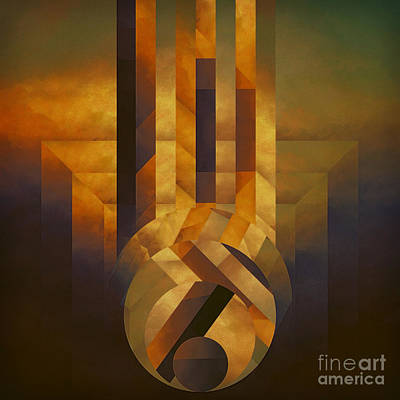 Falling Approach Art Print by Lonnie Christopher