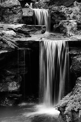 Photograph - Falling Bw by JC Findley