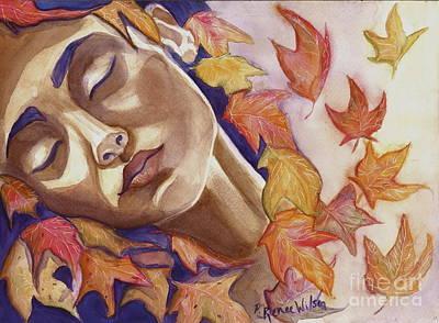 Falling Art Print by D Renee Wilson