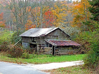 Photograph - Falling Down Old Barn In The Fall by Duane McCullough