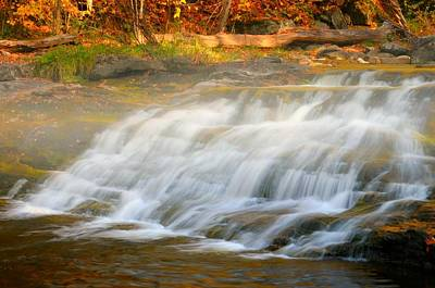 Kent Falls Photograph - Falling For You by Diana Angstadt